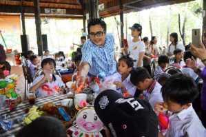 Trung thu 2018: 150 em thiếu nhi Lý Nhơn cùng vui chơi