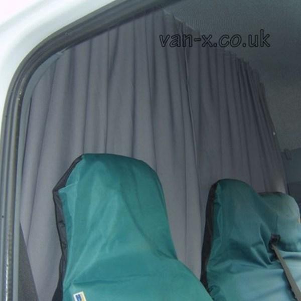 Maxi-Cab Divider Curtain Kit for Mercedes Sprinter-0