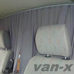 Cab Divider Curtain Kit for VW T3 Transporter-0