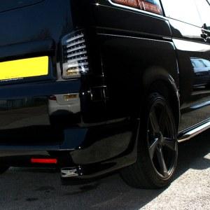 Rear Bumper Corner Spoiler for VW T5 Transporter-0