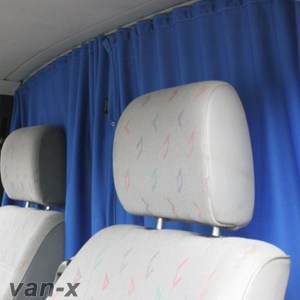 Cab Divider Curtain Kit for VW Crafter -0