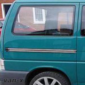 Smoked Rear Quarter Panel Window for VW T4 Transporter LWB-0