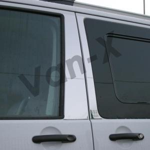 Door Pillar Trims for VW T6 Transporter Stainless Steel -8148