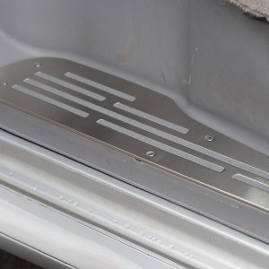 Step Protectors (3 Pcs) for Mazda Bongo, Ford Freda and Ford Friendee Stainless Steel -8483