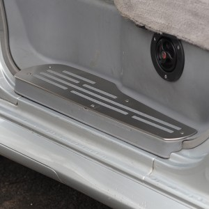 Step Protectors (3 Pcs) for Mazda Bongo, Ford Freda and Ford Friendee Stainless Steel -8481