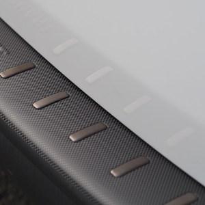 Rear Bumper protector for VW T5 & T5.1, Carbon Fiber Film (Ideal gift) -0
