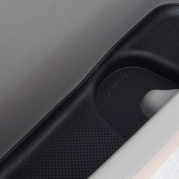 Rubber Door Pocket Inserts for VW T6 Transporter BLACK-20656