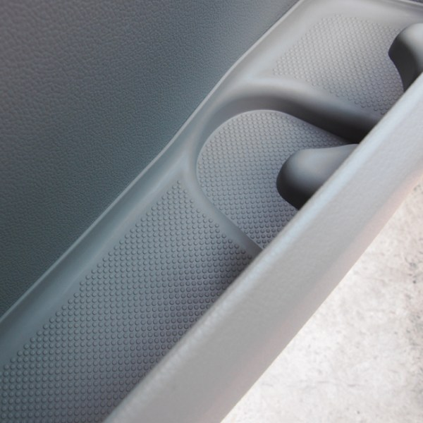 Rubber Door Pocket Inserts for VW T6 Transporter GREY-0