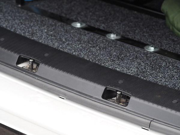 Rear Threshold For VW T5 & T5.1 Barndoor / Twin Door ABS plastic Full length-20574