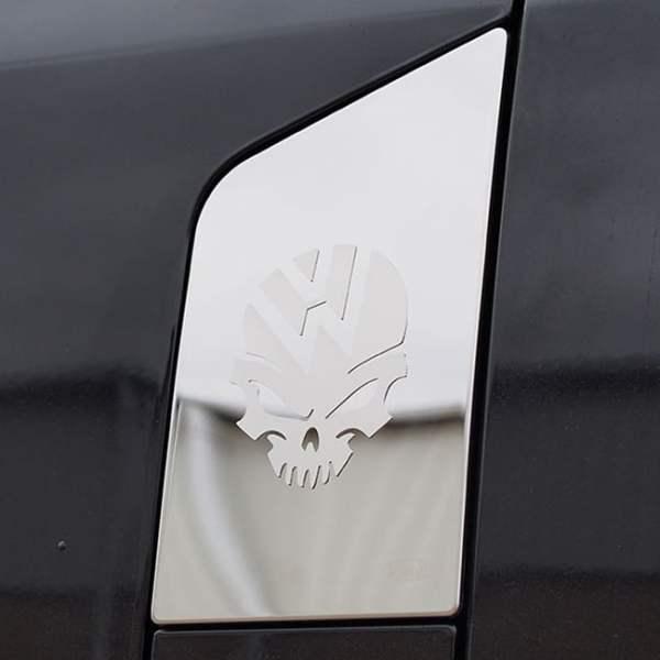 Skull Fuel Cap Flap Cover for VW T6 Transporter-0