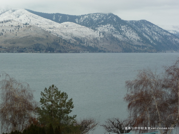 Chelan湖旁度圣诞