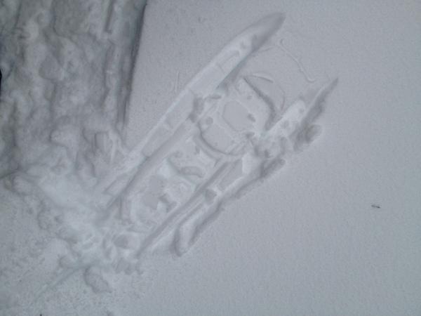 雪鞋的印记