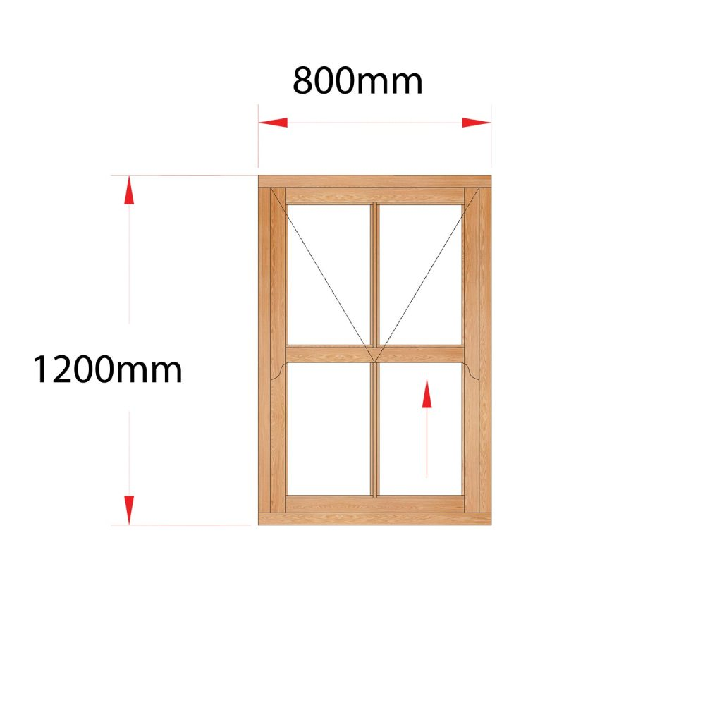 Van Acht Wood Easy Lift Sash Windows Product HMEL1V