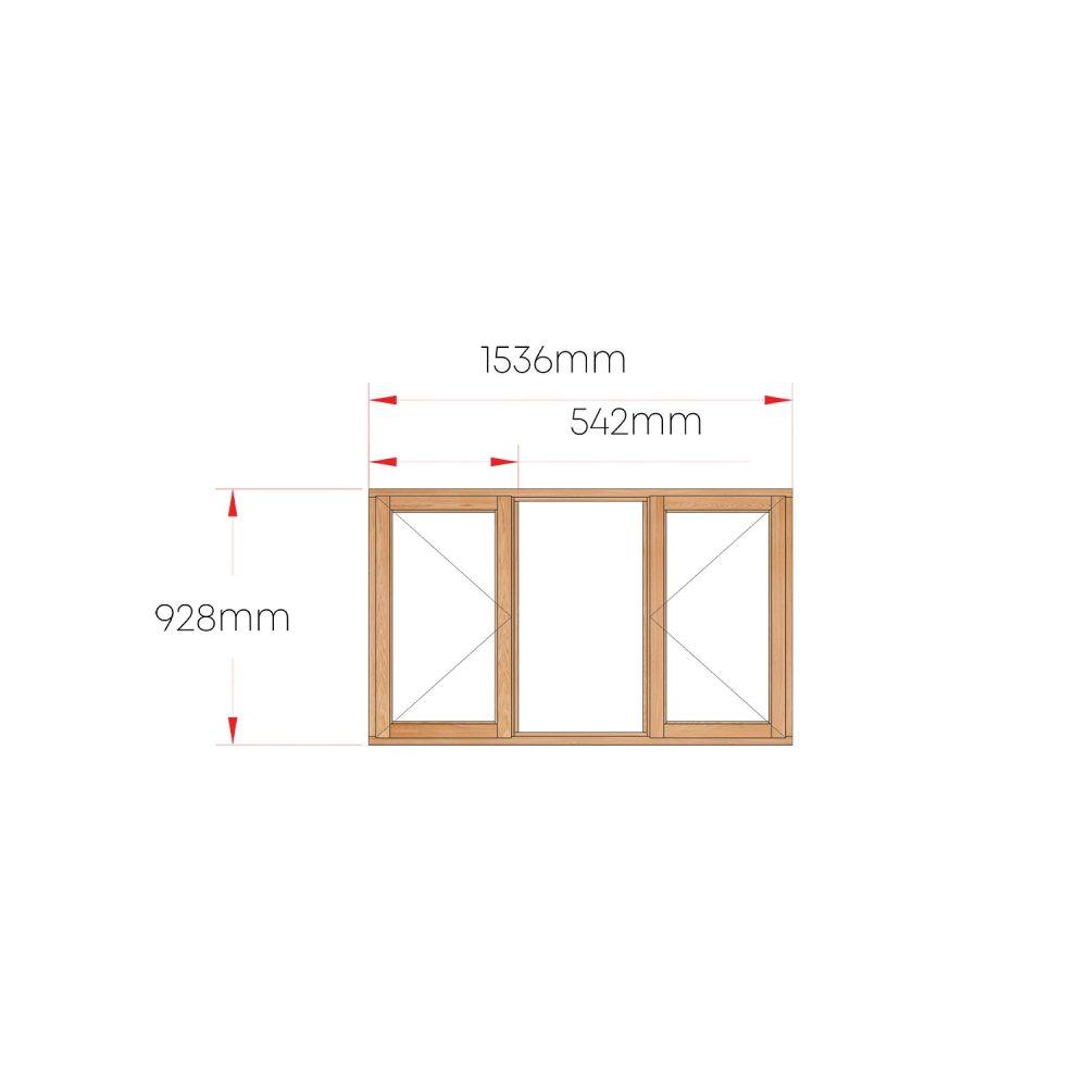 Van Acht Wood Windows Side Hung Full Pane MC3