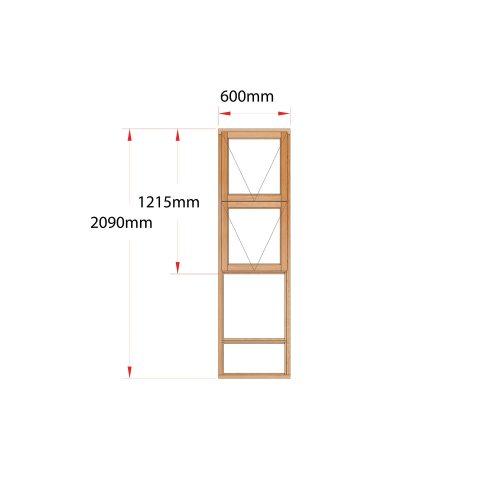 Van Acht Wood Windows Top Hung Product MK6