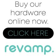 Buy our hardware online now. Revamp Online.