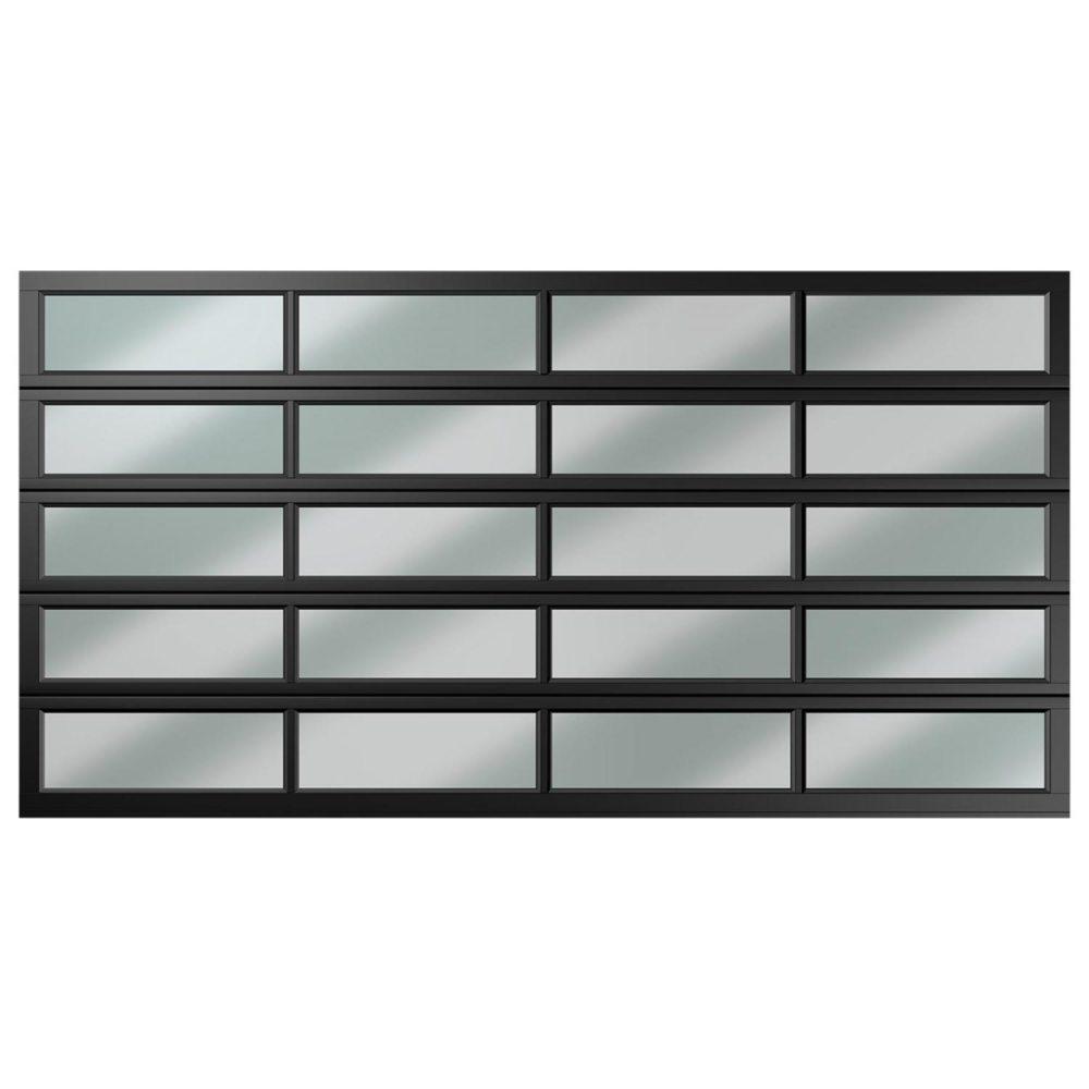 double 20 panel polycarbonate charcoal caravan