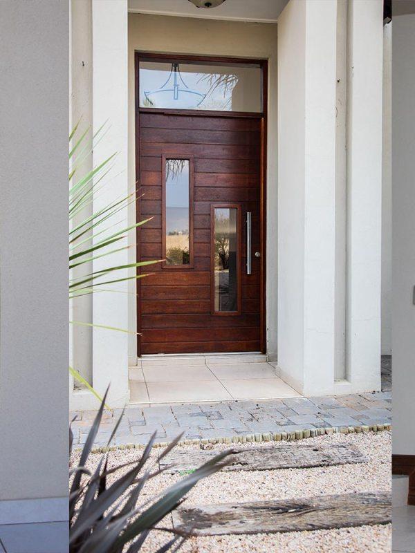 Van Acht Wood Pivot Doors