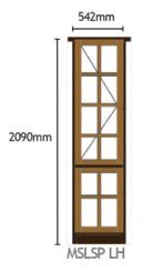 Van Acht Wood Windows Side Hung Small Pane