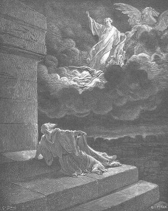 Elia's hemelvaart door Doré