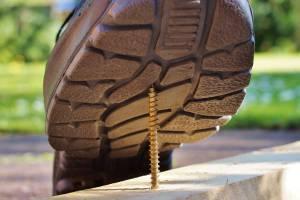 worker injury safety shoe