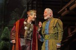 "Charles Shaughnessy as King Francis (left) and Tony Sheldon as Leonardo da Vinci in ""Ever After"" at Paper Mill Playhouse. (Photo by Jerry Dalia)"