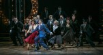 """Laura Osnes and Corey Cott (center) in the Paper Mill Playhouse production of """"The Bandstand."""" (PHOTO: Jerry Dalia)"""