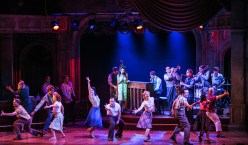"""""""The Bandstand"""" at the Paper Mill Playhouse is directede and choreographed by Tony Award winner Andy Blankenbuehler with book and lyrics by Richard Oberacker and Robert Taylor and music by Oberacker. (PHOTO: Jerry Dalia)"""