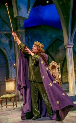 Brent Harris as the King. (Photo: Jerry Dalia)