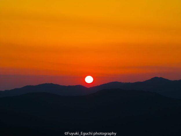 素晴らしい夕日 (Canon PowerShot SX710 HS)