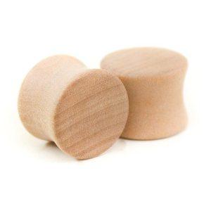 Holz Plug Wunschmotiv Elsbeere – van branch – Paaransicht