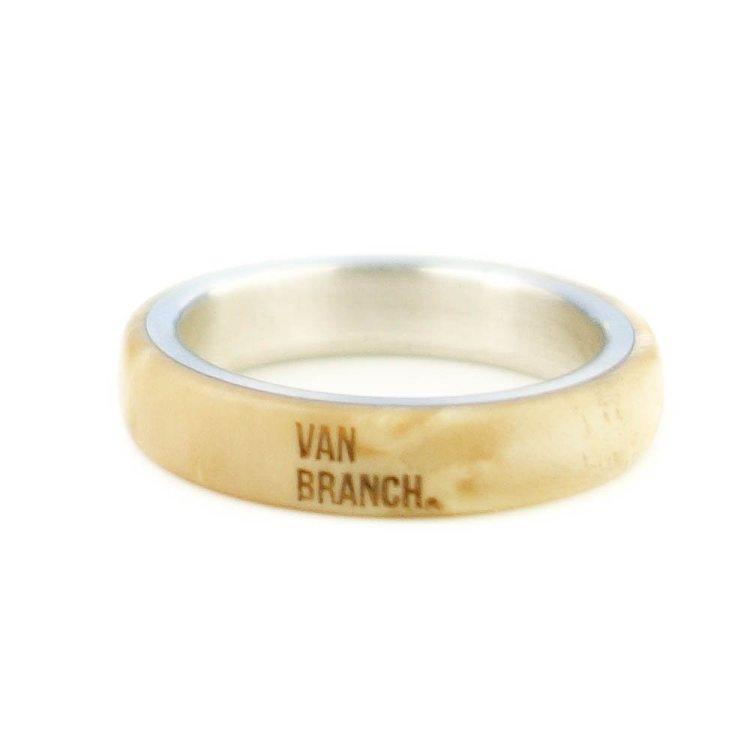 Holzring Eichborndamm Dein Ring | van branch - Beispiel- Birke/Sterlingsilber