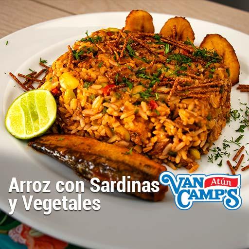 como preparar arroz con sardinas
