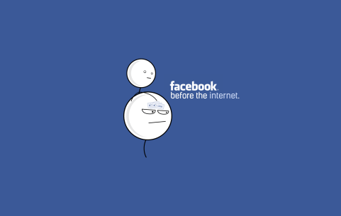 Facebook before the internet 2
