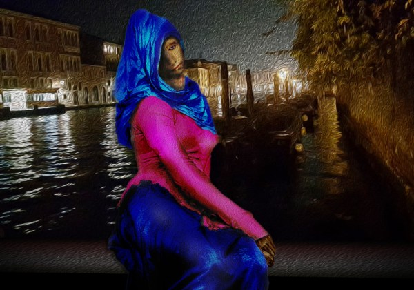 Gothic Beauty Venice byNight 2