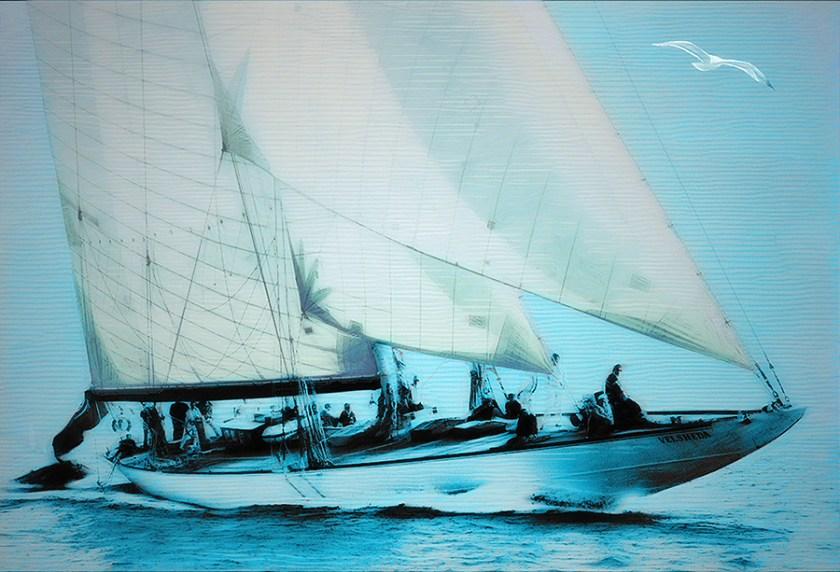 Velsheda Yacht - 2019 by Lutz Roland Lehn