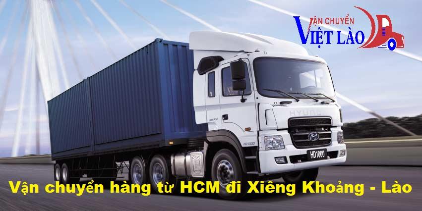Vận chuyển hàng từ HCM đi Xiêng Khoảng