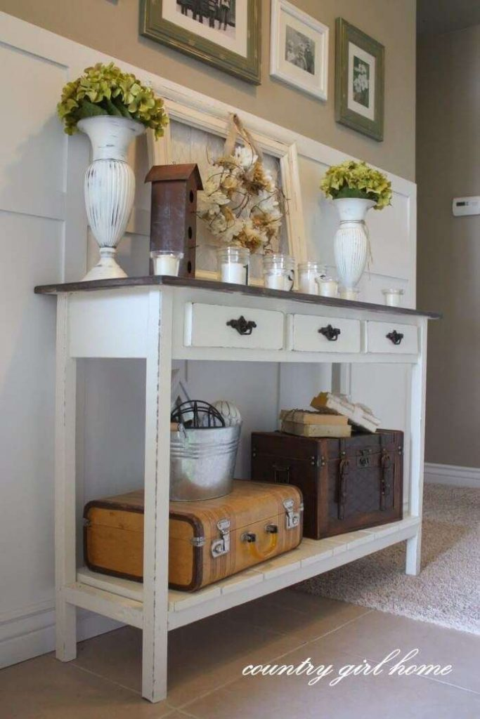 Provincial Pantry Entryway Table