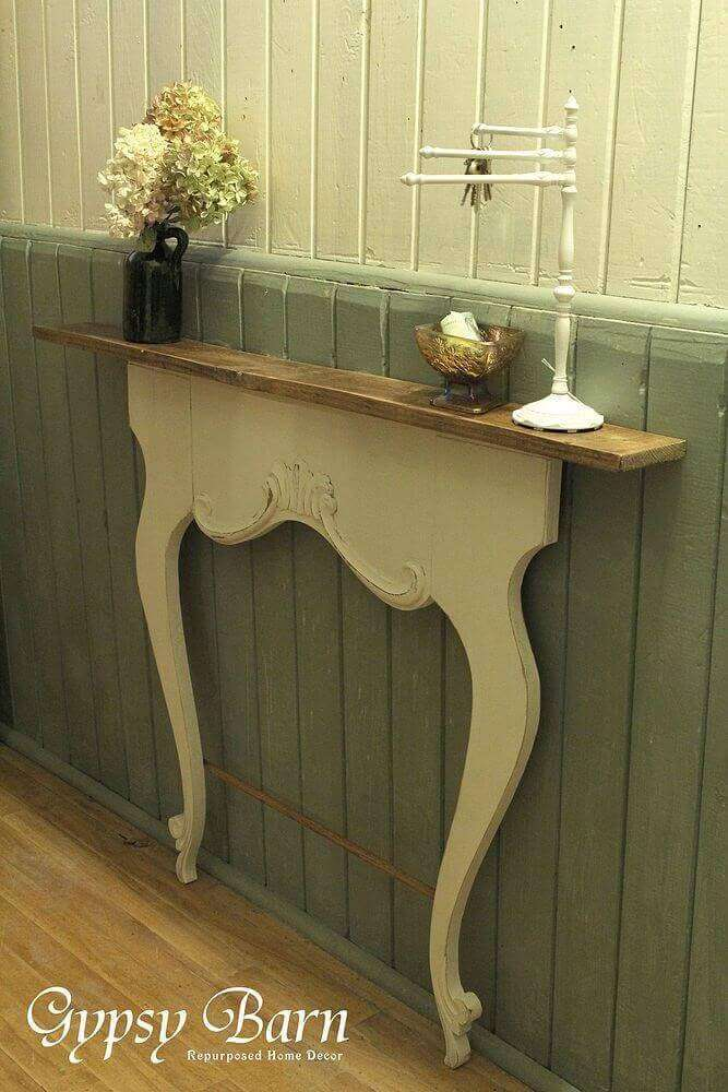 """Victorian """"Slice"""" Styled Table"""