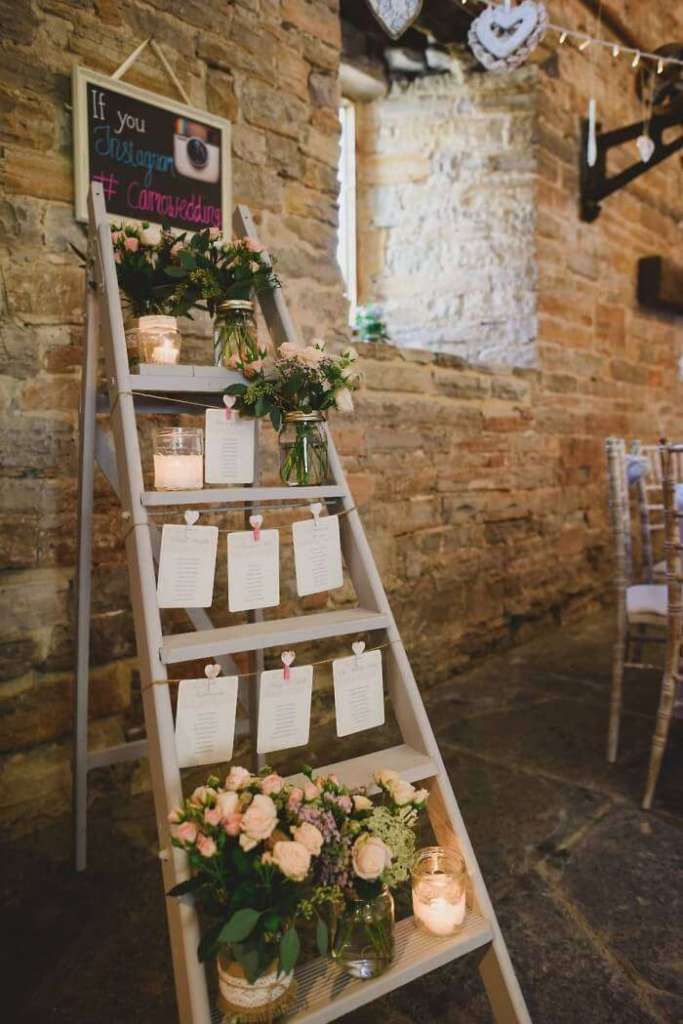 ideas for wedding seating chart display