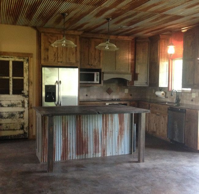 rustic cabinets kitchen