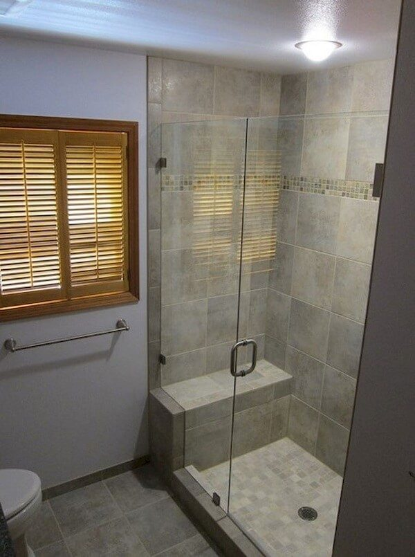 walk in shower ideas for small bathrooms