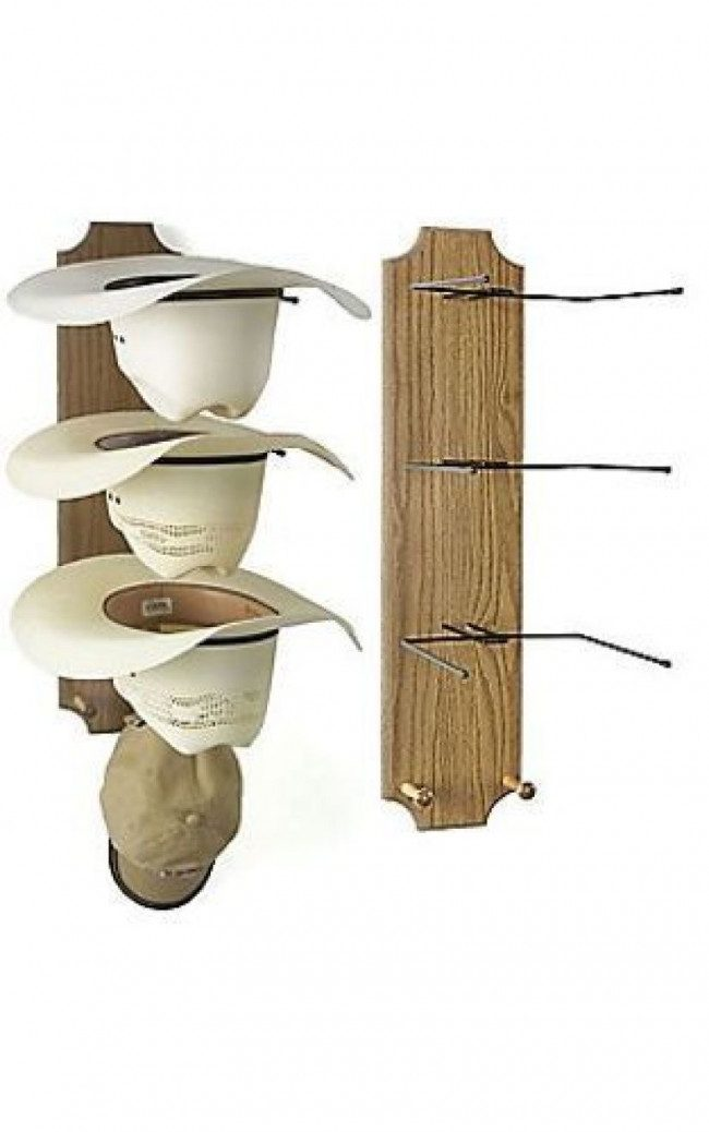 rack ideas for hat