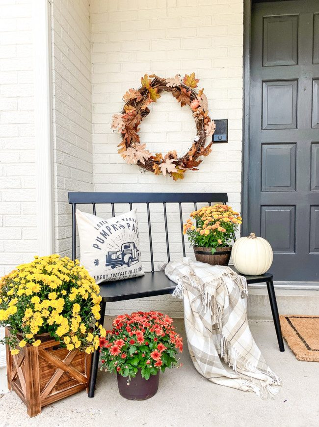 fall porch decor buy