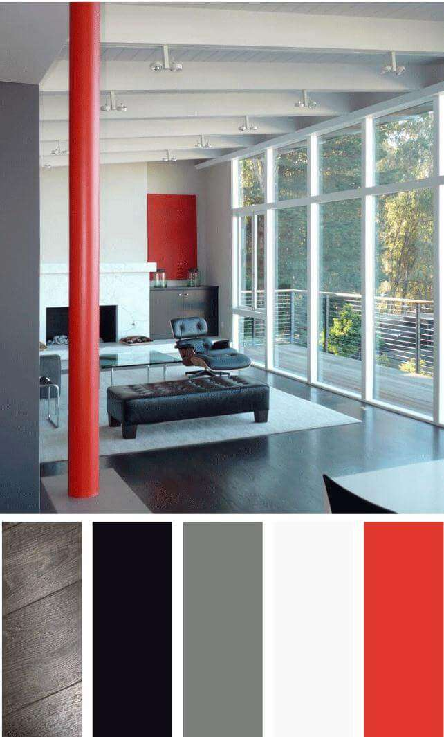 masculine living room color schemes