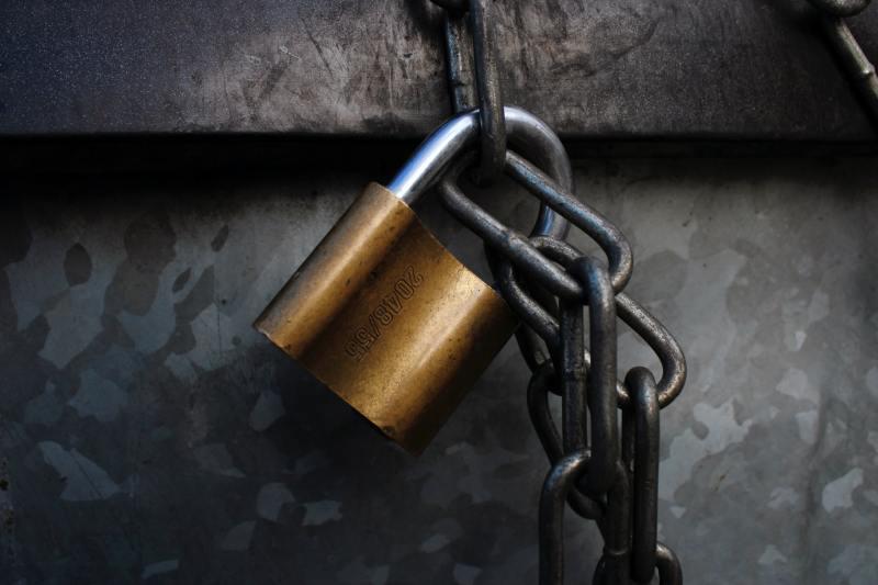 van comrade padlock image