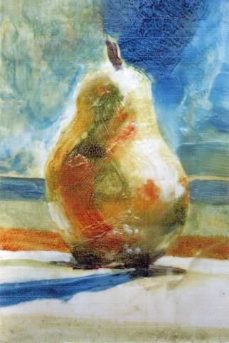 encaustic pear