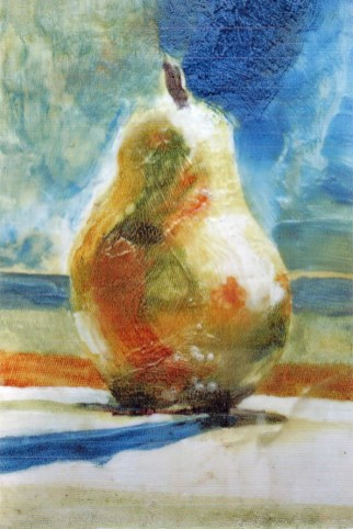 encaustic pear