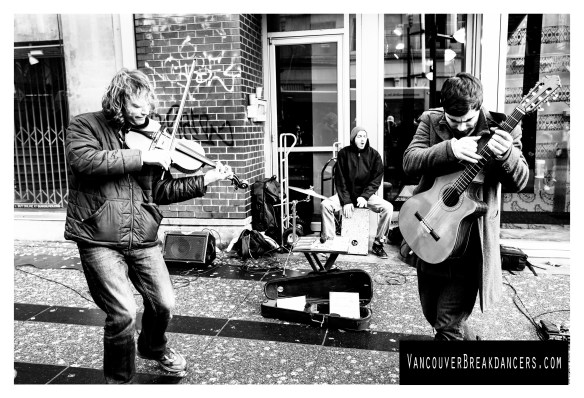 Vancouver Photography - Street Musicians