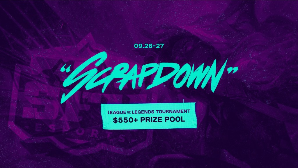 SFU Scrapdown League of Legends Captain's draft